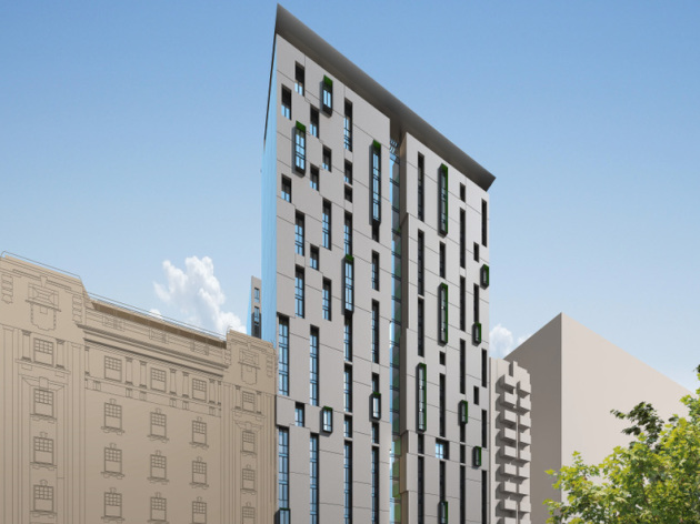 Adelaide student accommodation development